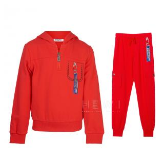 Moschino Kid's Red Tracksuit