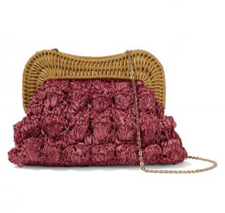 Kayu Monaco Rattan Shoulder Bag