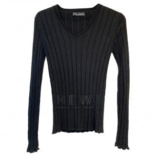 Dolce & Gabbana Men's Cashmere & Silk Sweater