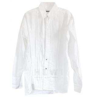 Burberry Men's White Tailored Shirt