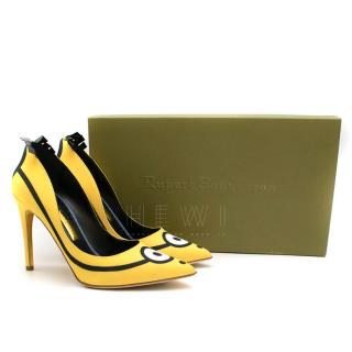 Rupert Sanderson Minion Limited Edition Pumps