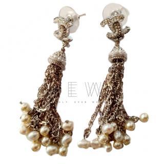Chanel CC Chandelier Earrings