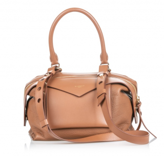 Givenchy Tan Leather Sway Satchel Bag