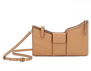 Fendi Bustine Three-Pocket Crossbody Bag