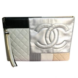 Chanel Patchwork O Pouch