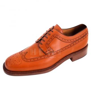 Bally Scribe Tan brogues