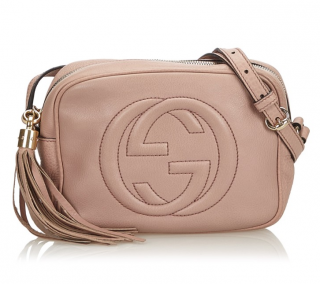 Gucci Pink Soho Disco Crossbody Bag