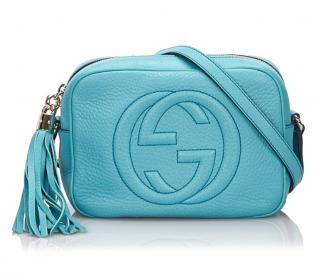 Gucci Soho Blue Disco Crossbody Bag
