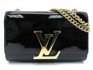 Louis Vuitton Patent Leather Louise MM Bag