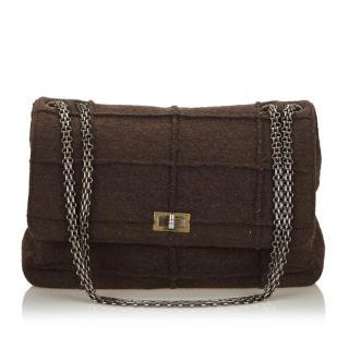 Chanel Idenitification Reissue 225 Wool Flap Bag