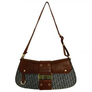 Dior Monogram Reporter Shoulder Bag