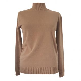 Max Mara roll-neck wool sweater