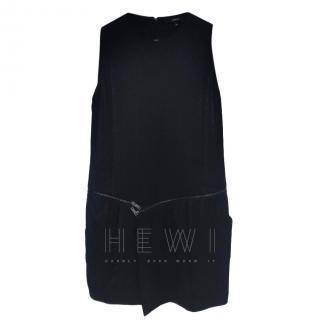 Gucci Black Sleeveless Shift Dress