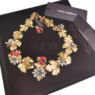 Dolce & Gabbana Runway Ladybird Necklace