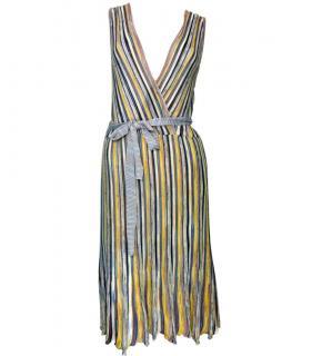 M Missoni Striped Sleeveless Dress