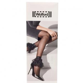 Wolford Limited Edition tulle and lace gaiters