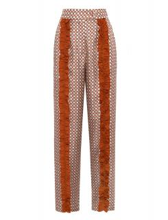 Lisou Elettra Printed Silk Trousers