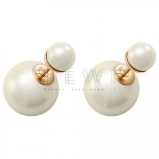 Dior Pearl Tribales Earrings