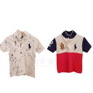 Polo Ralph Lauren boy's t-shirt set