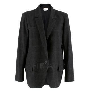 Isabel Marant Etoile Wool Check Blazer