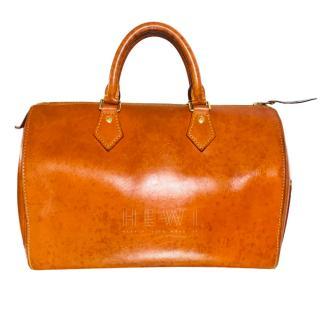 Louis Vuitton Tan Speedy Bag