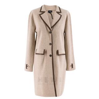 Snobby Sheep Milano Beige Wool Blend Coat