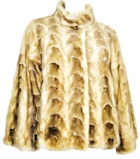 Lederer Fur Blonde Mink Fur Jacket