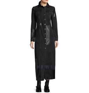McQ Patchwork Denim Coat