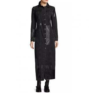 McQ Patchwork Denim Coat