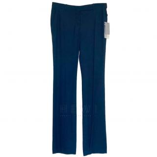 Alexander McQueen Tailored Navy Trousers