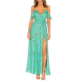 Lovers + Friends Mandy Wrap Maxi Dress