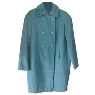 Louis Feraud Wool & Angora Coat