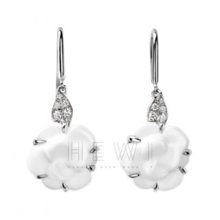 Chanel Camelia Sculpte Earrings