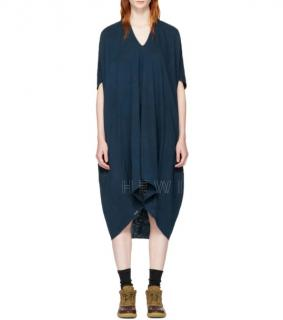 Visvim Denim Indigo Ruana Dress