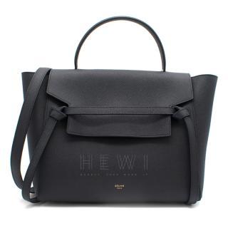 Celine Mini Belt Bag in Grained Calfskin - Current Season