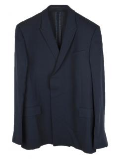 Kilgour wool single-breasted jacket