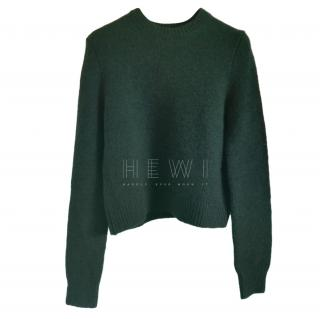 Celine Forest Green Cashmere jumper