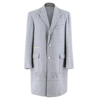 Doriani Single Breasted Cashmere Coat