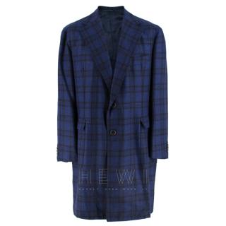 Gerrano Solito Bespoke Checked Single Breasted Jacket