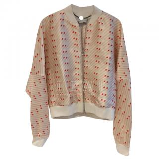 Stella McCartney Cherry Blossom Bomber Jacket
