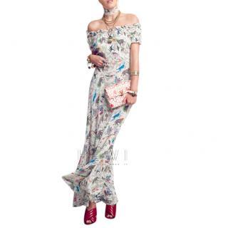 Rixo Issy Animal Kingdom Print Dress