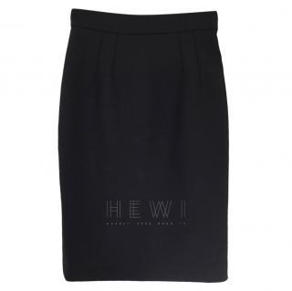 Dolce & Gabbana Wool Blend Pencil Skirt