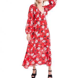Lily & Lionel Magnolia Print Farrah Maxi Dress