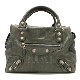 Balenciaga Leather Giant Stud 21 Bag
