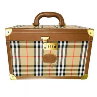 Burberry Nova Check Vanity Case