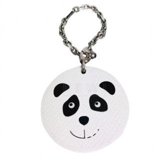 Hermes Leather Panda Key Chain