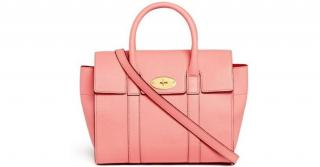 Mulberry macaroon pink small bayswater bag