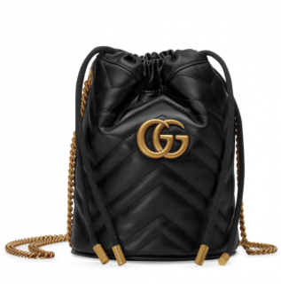 Gucci mini GG Marmont bucket bag