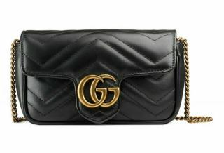 Gucci GG Marmont Matelasse Leather Mini Shoulder Bag