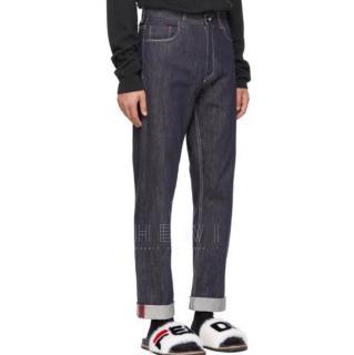 Fendi Logo-Pock Straight-Leg Jeans